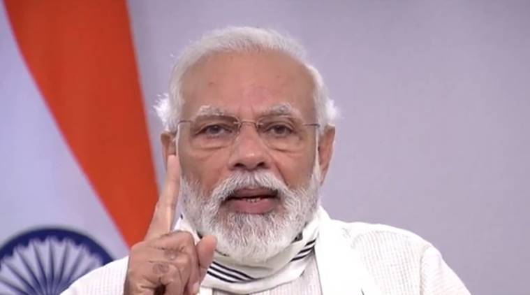 People leading fight against Covid-19 worthy of praise: PM Modi