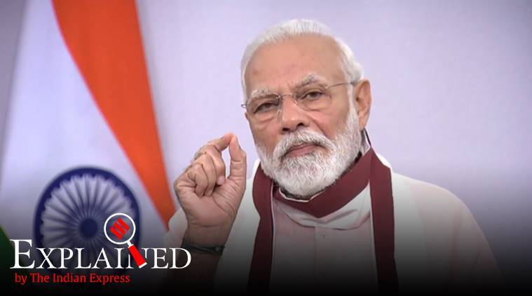 PM Modi address to nation, vocal for local, india sectors dependent on imports, where does India most need imports, imports in india, express explained, indian express