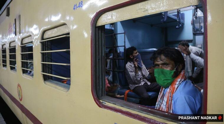 Two trains to take stranded people from Karnataka; free inter- district bus facility extended