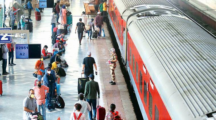 Sigh of relief, as first special train from Delhi reaches Mumbai Central