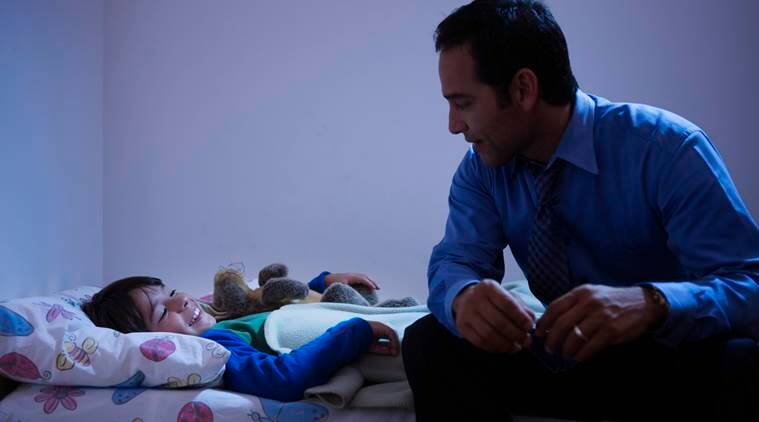 night time routine with kids, getting kids to sleep, parenting, indian express, indian express news