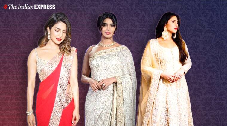 An Ethereal Fashion Affair Priyanka Chopra In Abu Jani Sandeep Khosla Lifestyle News The Indian Express
