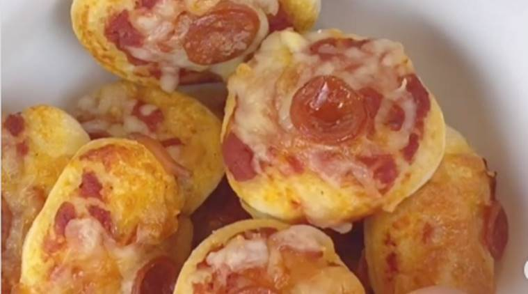 pizza cereal, food trend