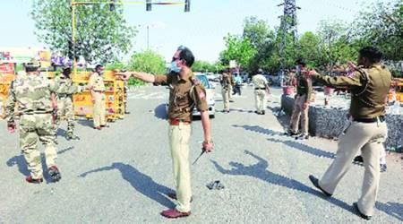 Youths booked on faceboook post, Kashmiri youths booked on facebook post, UP Police, India news, Indian Express