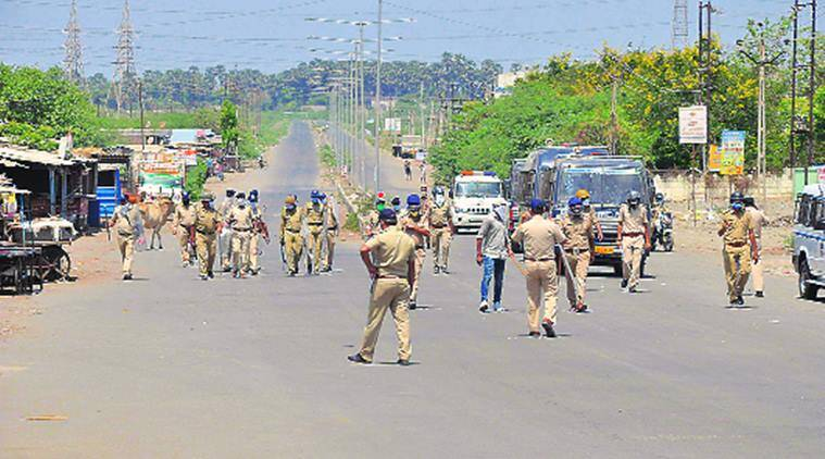 Migrant workers, clash with police, Surat news, Gujarat news, Indian express news