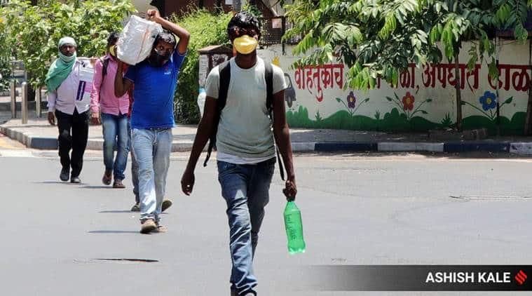 Coronavirus, india lockdown, Bihar migrant workers, Ahmedabad news, indian express news