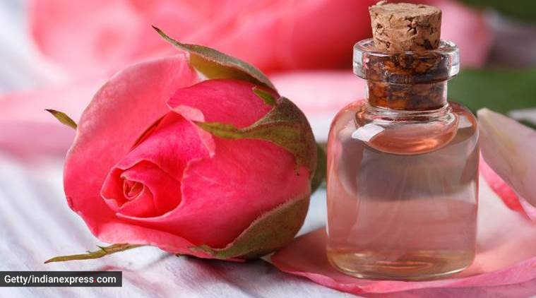rose water, rose water uses, rose water uses for face, rose water uses for hair, rose water uses for skin, rose water use in summers, indian express, indian express news
