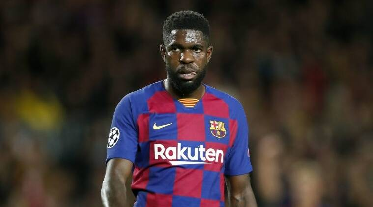 Barcelona's Samuel Umtiti suffers calf injury in training | Sports ...