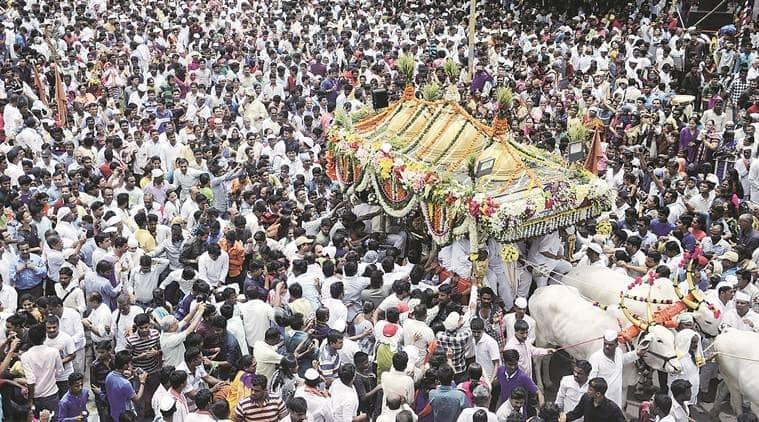 coronavirus, covid 19 in pune, coronavirus in maharashtra, dyaneshwar palkhi procession, Sant Tukaram palkhi procession, palkhi procession cancelled, ajit pawar, indian express news
