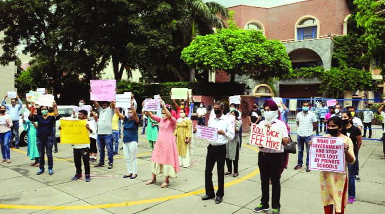 Explained: Why are parents protesting outside schools?