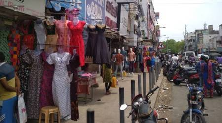 Chennai: Some stores open, residents step out to shop after 8 weeks
