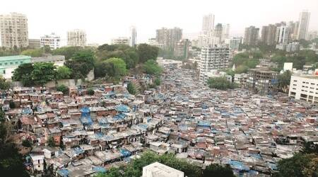 Slum Rehabilitation Authority,coronavirus, india lockdown, Slum Rehabilitation Authority mumbai, sla, Slum Rehabilitation Authority approval, pre monsoon repairs, pre monsoon slum repairs in mumbai, indian express news