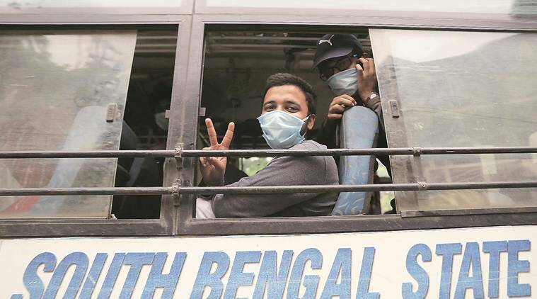 Kota students, Stranded students, india lockdown, coronavirus crisis, Pune news, Indian express news