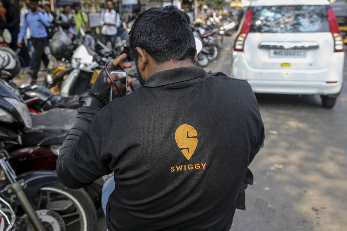 swiggy strike, siwggy workers strike, swiggy workers strike noida, swiggy strike in noida, All India Gig Workers' Union, noida news