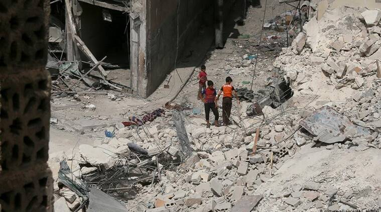 Damascus, Moscow accused of 'war crimes' in northwestern Syria
