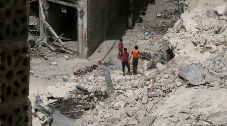 UN approves aid to Syria's rebel area through 1 crossing