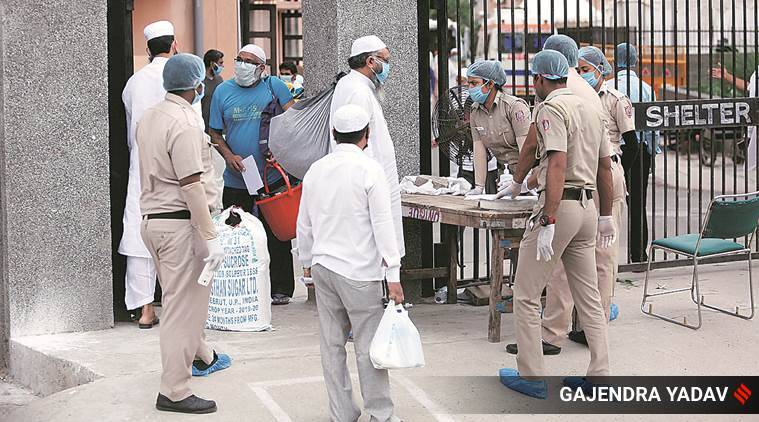 Delhi coronavirus cases, Tablighi Jamaat, Tablighi Jamaat event, Tablighi Jamaat event coronavirus, Delhi news, city news, Indian Express