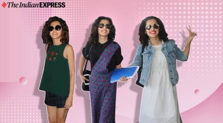 Check out how Taapsee Pannu keeps her airport looks basic yet chic