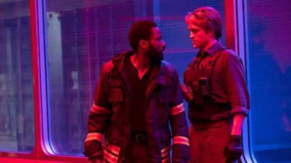 John David Washington and Robert Pattinson tenet