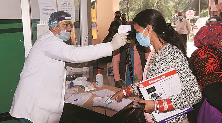 India Lockdown, coronavirus outbreak, covid 19 cases, Corona tests, Indian express news