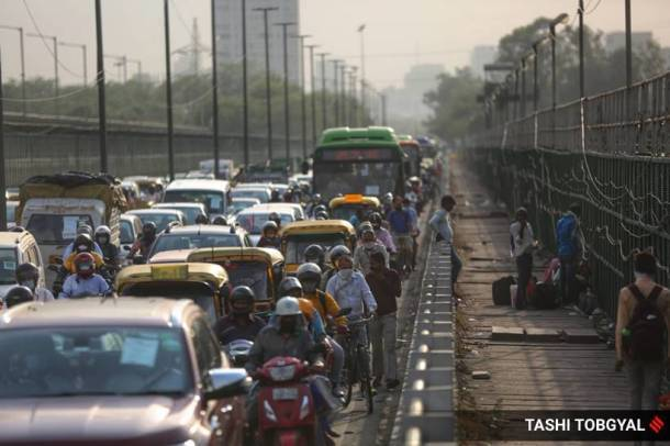 india lockdown, lockdown relaxations, delhi lockdown, coronavirus, coronavirus lockdown, traffic, delhi traffic, indian express news