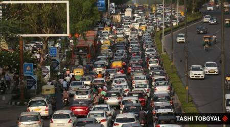 india lockdown, lockdown relaxations, delhi lockdown, coronavirus, coronavirus lockdown, traffic, delhi traffic, indian express news