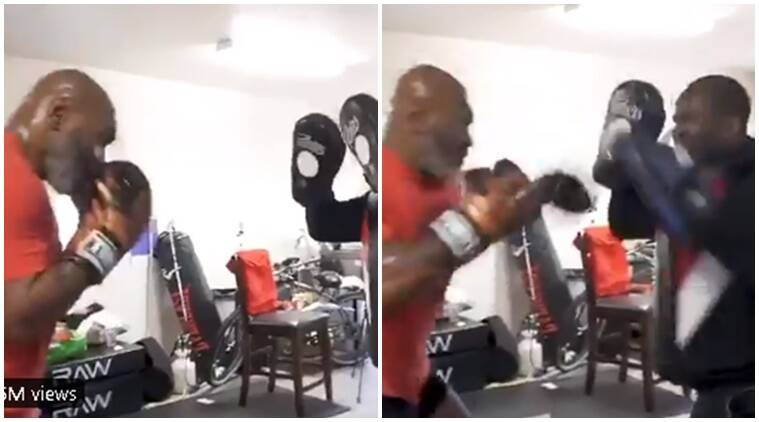 'Bad Boy for Life' Mike Tyson impresses with speed after promising sensational comeback to boxing thumbnail