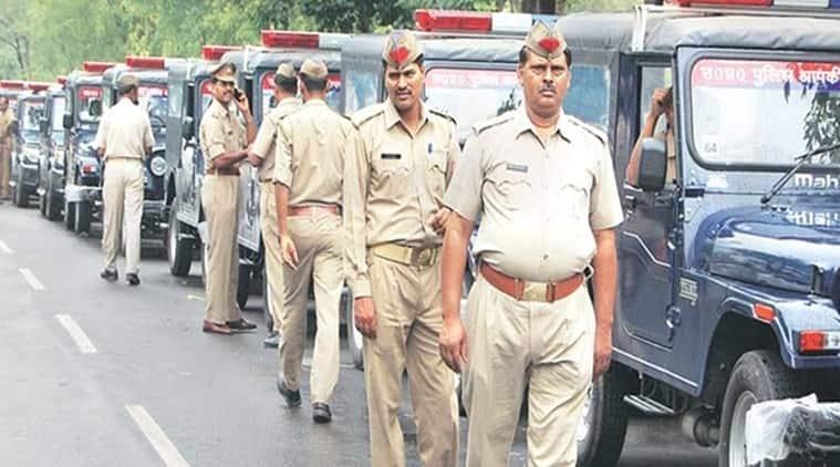 India lockdown, Coronavirus cases, Maharashtra Police force, Mumbai news, Maharashtra news, Indian express news