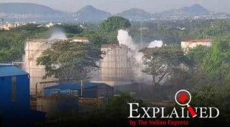 vizag gas leak, visakhapatnam gas leak, vizag gas leak deaths, styrene gas, what is styrene, gas leakage, bhopal gas leak, gas leak vizag, Indian express