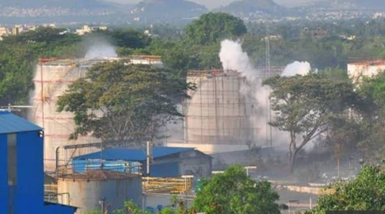 vizag gas leak, Vizag gas leak FIR, Vizag gas leak company, LG poymers, Visakhapatnam gas leak, andhra pradesh gas leak, indian express