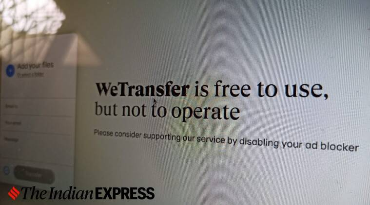 Centre blocks Dutch file-sharing website WeTransfer