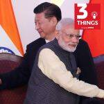 File photo of Indian Prime Minister Narendra Modi with Chinese premier Xi Jinping