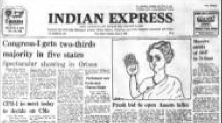 Fourty years ago, Indian express 40 years ago, Assam Mediation, BG Vergese, Congress Indian express