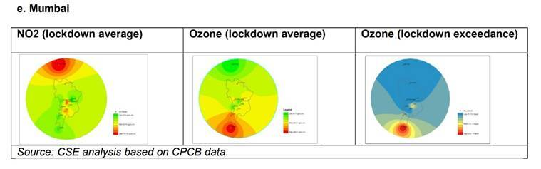 India coronavirus lockdown, covid lockdown, covid lockdown air pollution, ozone levels India, India air pollution