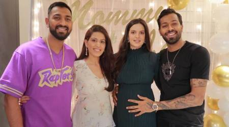 Hardik Pandya celebrates 'mommy-to-be' Natasa Stankovic
