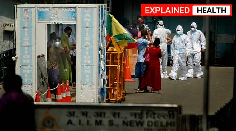 Delhi news, Delhi covid news, coronavirus news, AIIMS OPD services, AIIMS OPD services resume