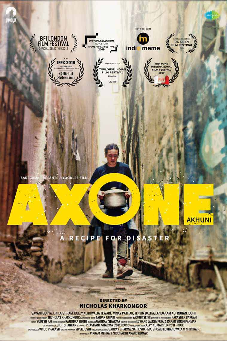 Axone, Nicholas Kharkongor, axone netflix, what is axone, indian express lifestyle