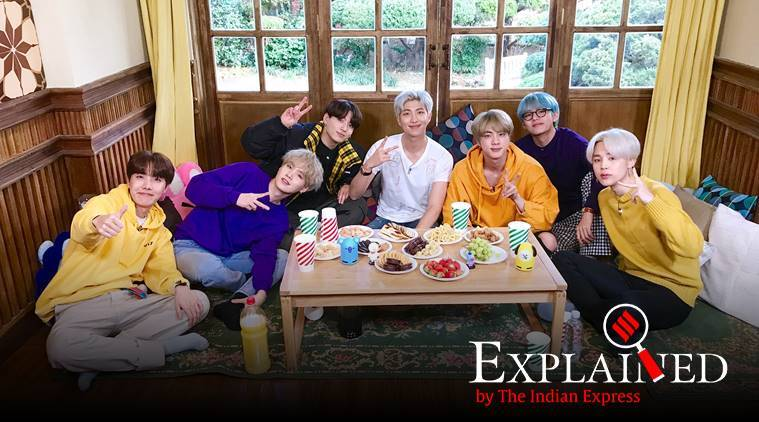 BTS, BTS members, BTS india, BTS history, BTS youtube, dear class of 2020 bts, BTS, K-pop, K-pop band BTS, BTS songs, BTS band, Express Explained, Indian Express