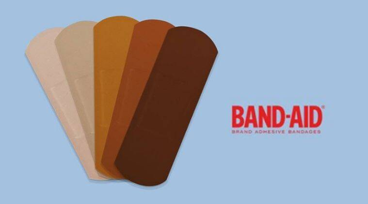 Band-Aid, diverse skin colour bandages, Black lives matter protest, Anti-racism protest, Trending news, Indian Express news