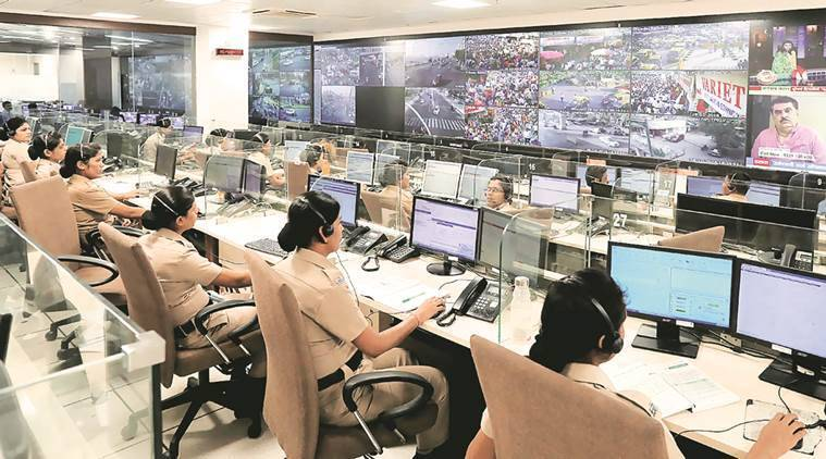 Pune police control room, Covid symptoms, Pune news, Maharashtra news, indian express news