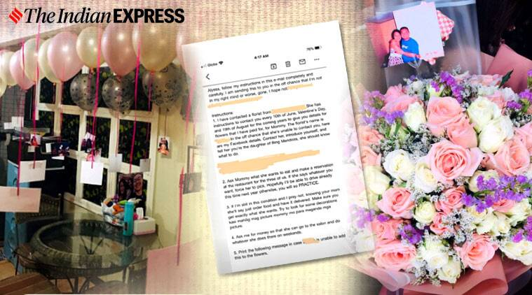father email daughter 10 months after death, Alyssa Mendoza, Manila, trending
