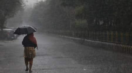 Delhi weather, Delhi rains, monsoon, Delhi rain, Delhi monsoons, Indian Express