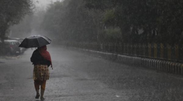 Delhi weather, Delhi rains, monsoon, Delhi rain, Delhi monsoons, Indian Express