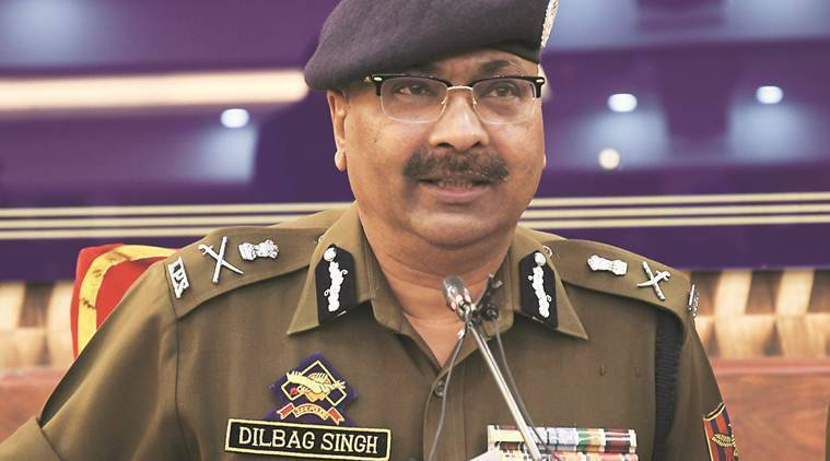 J&K DGP Dilbag Singh, IGP Basant Rath, complaint filed against J&K DG, complaint against DGP Dilbag Singh, jammu and kashmir