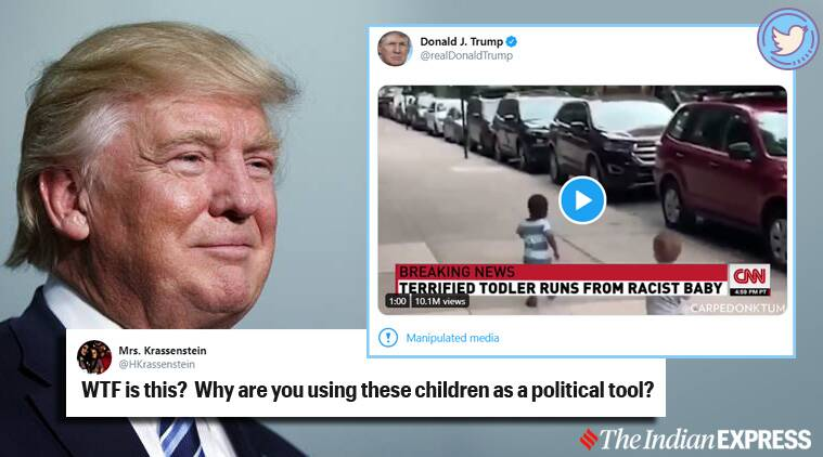 Did Trump Tweet a Doctored CNN Video of a 'Racist Baby'?