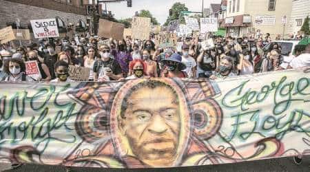 George Floyd protests, eye 2020, sunday eye, indian express, indian express news