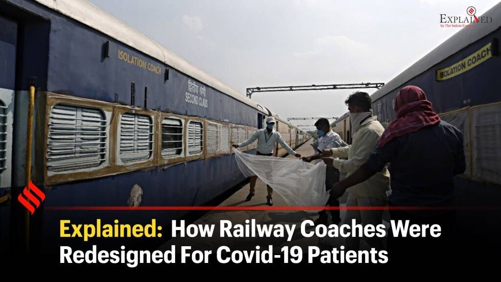 Explained: How Railway Coaches Were Redesigned For Covid-19 Patients