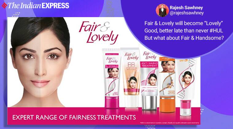 fair and lovely, fair and lovely twitter reactions, Hindustan Unilever Limited (HUL)