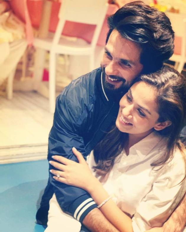 shahid kapoor and mira kapoor father's day