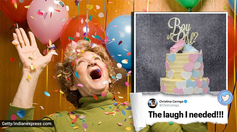 gender reveal party, elders use wrong word, elders funny stories, parents embarrassing stories, parents funny mislabelling, indian express, funny news
